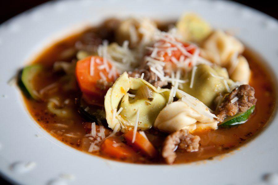 Italian Tortellini Soup {Recipe}