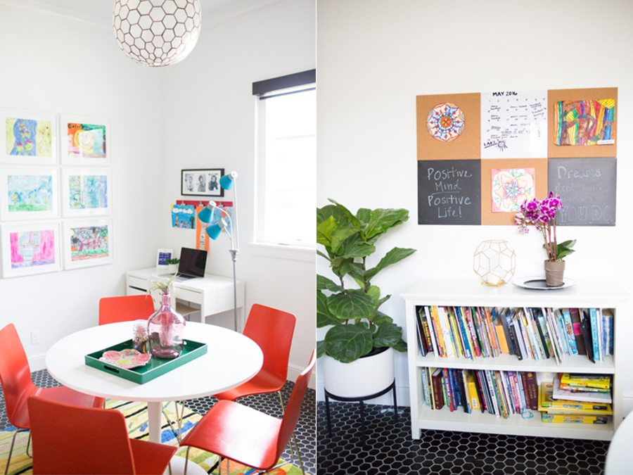 Room Reveal Kids Art Room | cc and mike | Home Design Blog