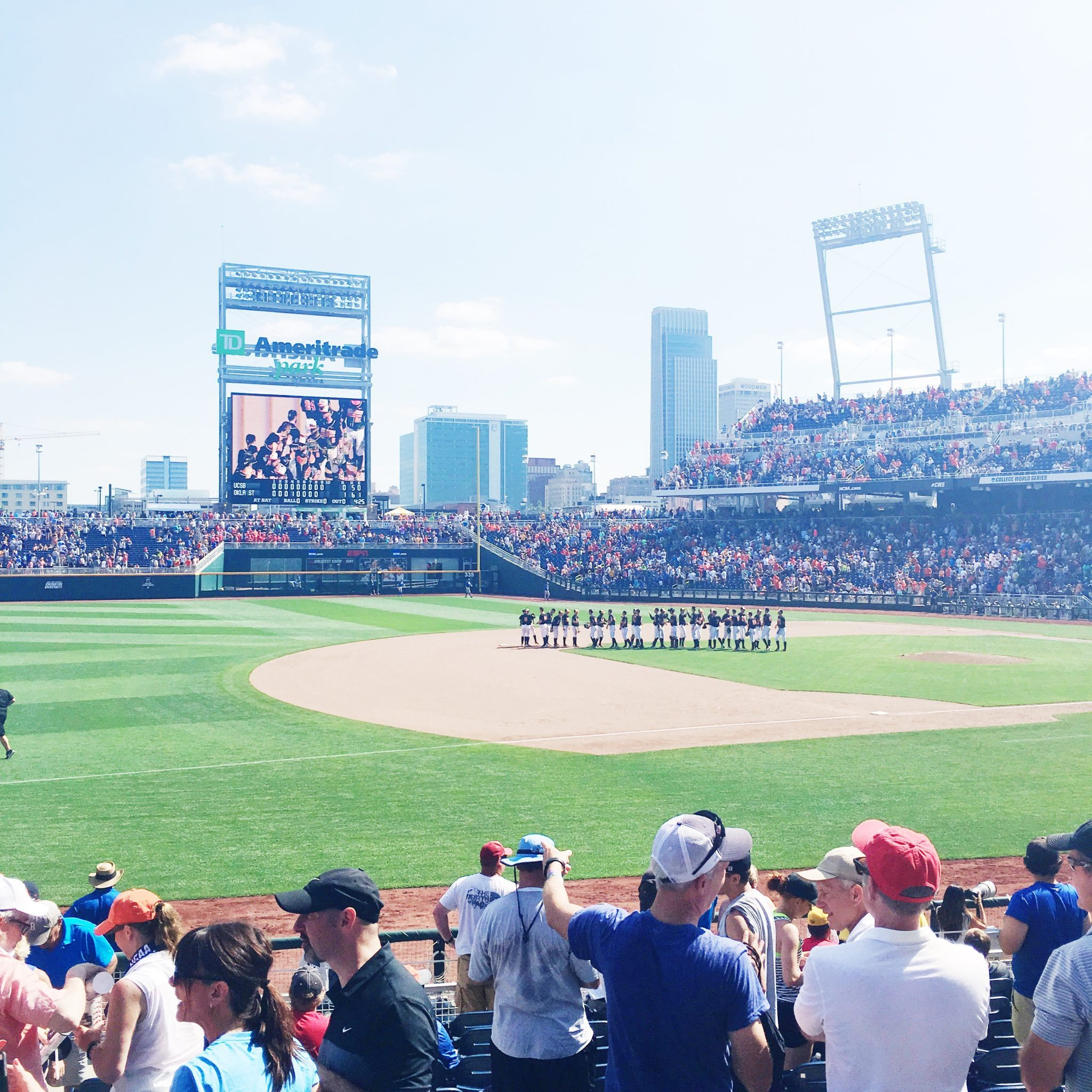 College World Series Trip {Rv Travel}