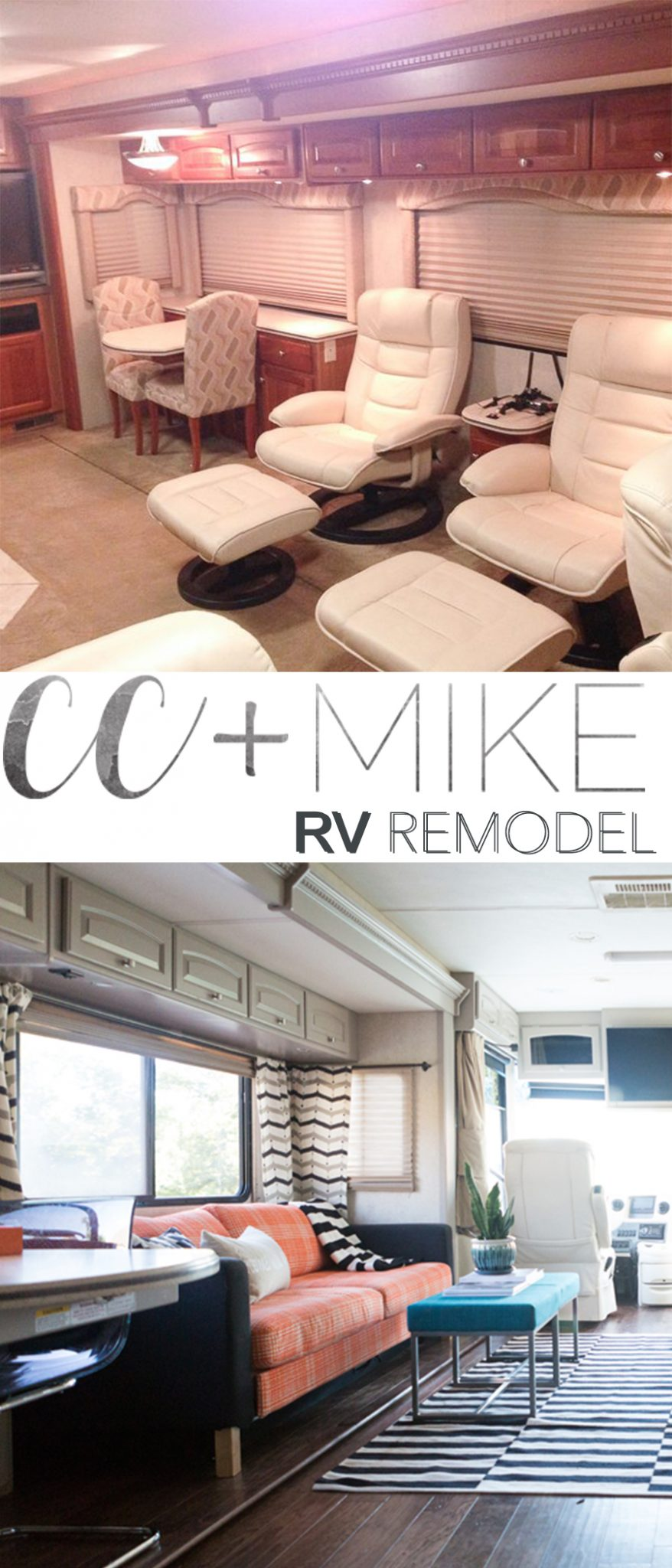 Miller RV Renovation - Before & After   cc&mike   Lifestyle Blog