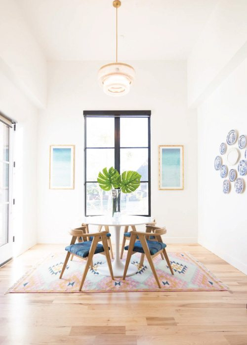 Modern Home Decor Breakfast Nook