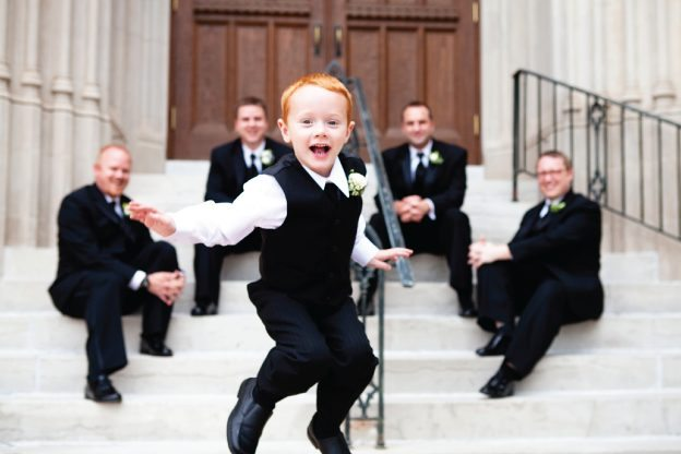 jumping ring bearer