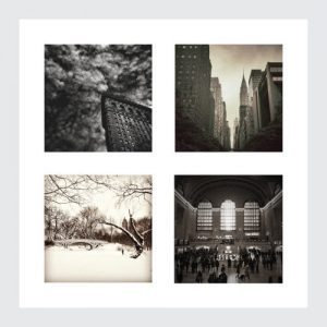 new york prints 4 pack