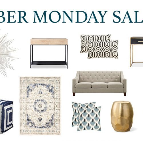 Cyber Monday Home Decor Sales