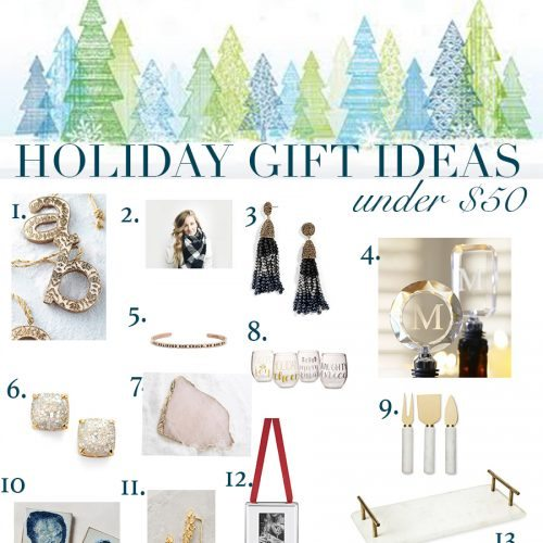 Ultimate Gift Guide – Thoughtful gifts under $50