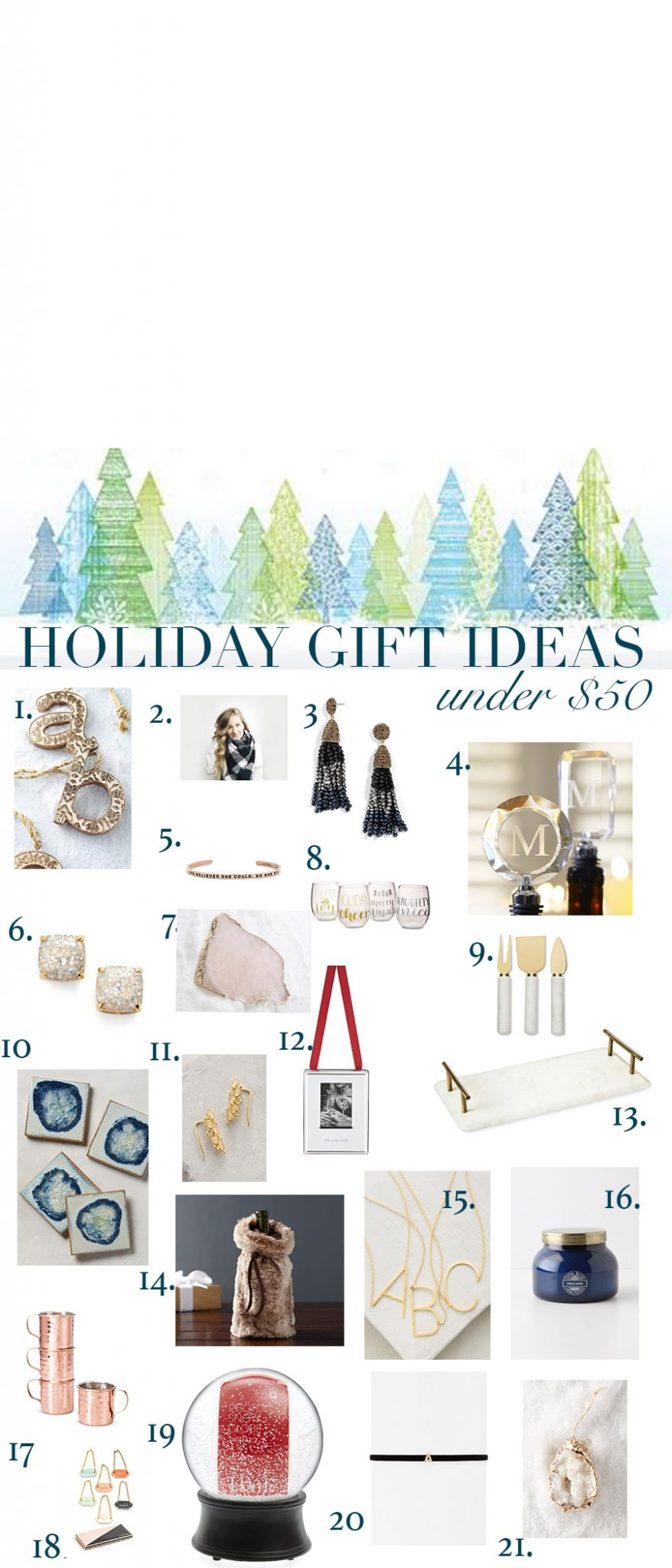 Ultimate Gift Guide - Thoughtful Gifts under $50 | cc+mike ...