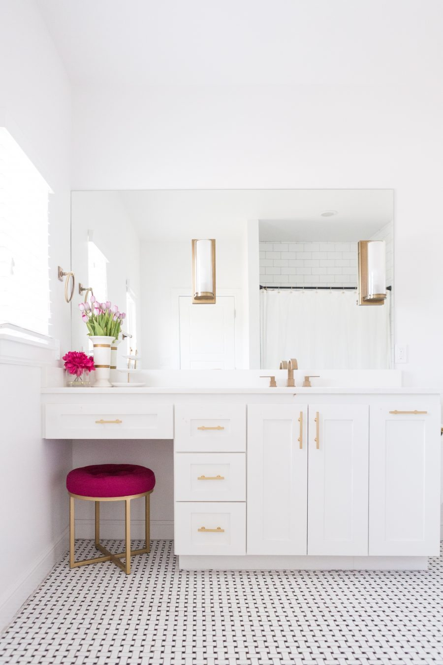 modern home decor ideas-brass and silver sconces | cc&mike | blog