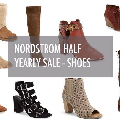 Nordstrom Half Yearly Sale – SHOES