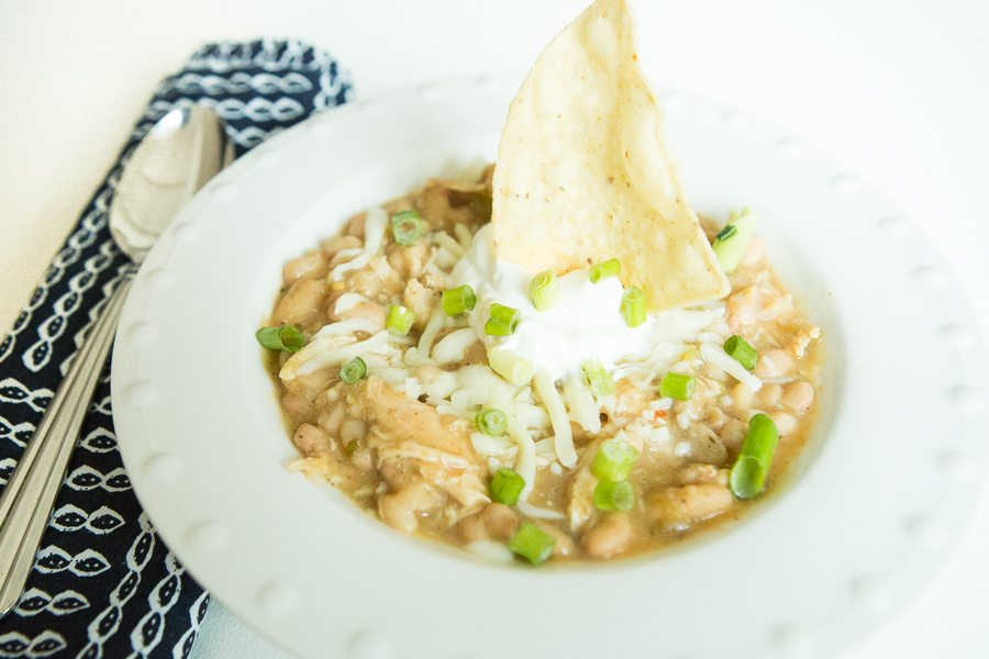 CC & Mike Quick and Easy Crock-pot Recipes - White Chicken Chili 6