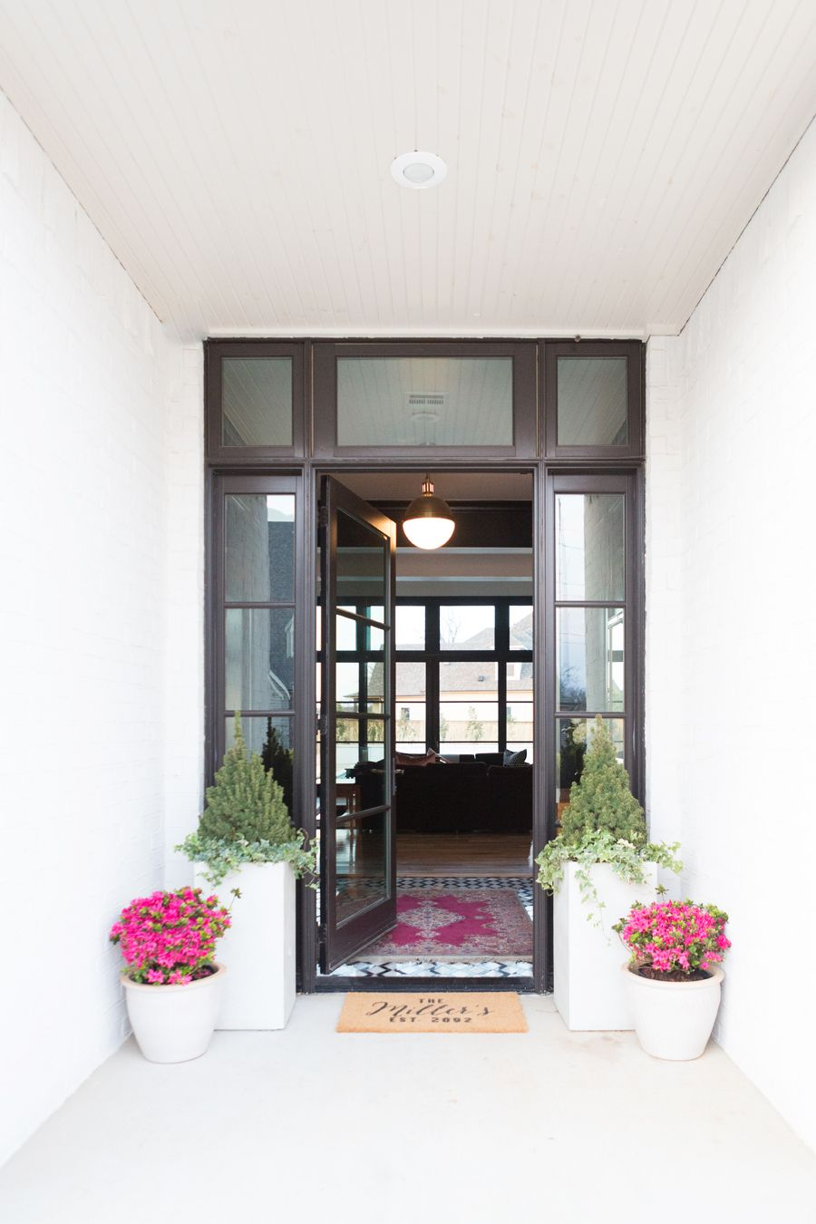 Spring Porch Modern Home Decor