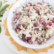 Quick and Easy Four Ingredient Chicken Salad