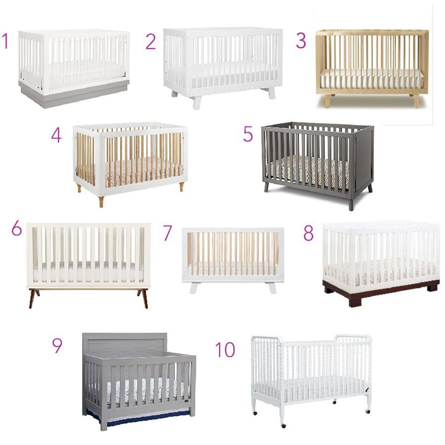 Babyletto Lolly Convertible Crib 5. Delta Manhattan Crib 6. DwellStudio Crib  7. Babyletto Hudson Crib 8. Babyletto Crib U2013 Espresso| 9.