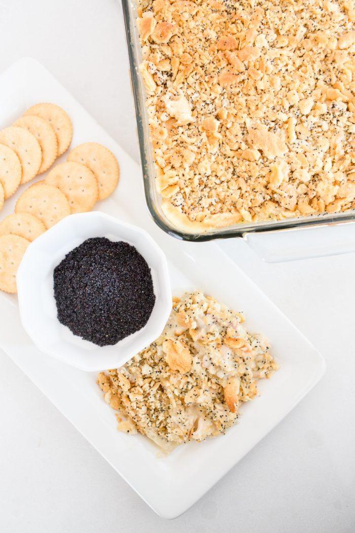 chicken casserole with poppy seeds recipe