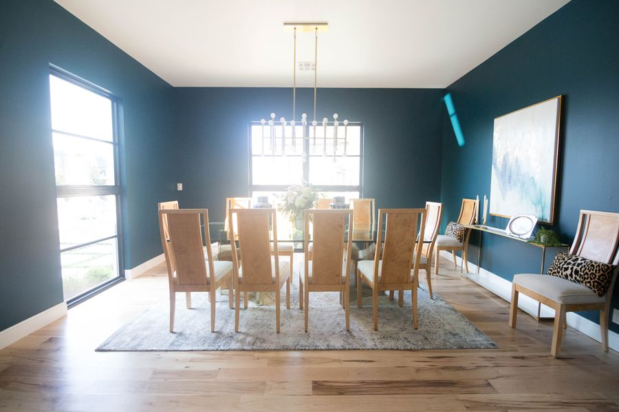 Top 3 Blue Green Paint Colors for Dark and Dramatic Walls | CC and ...