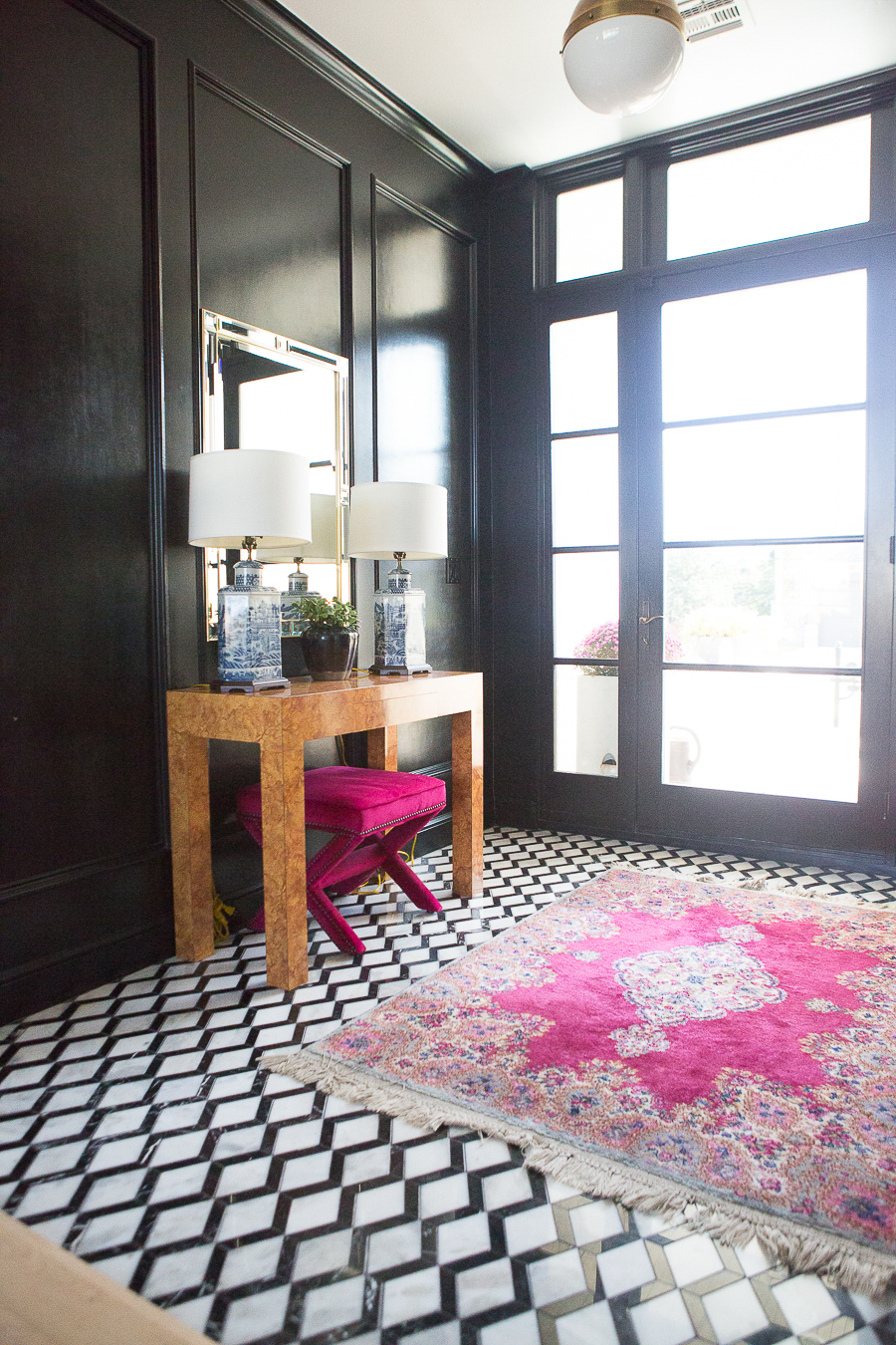10 Bold Pink And Navy Rugs For Home Decor Cc And Mike