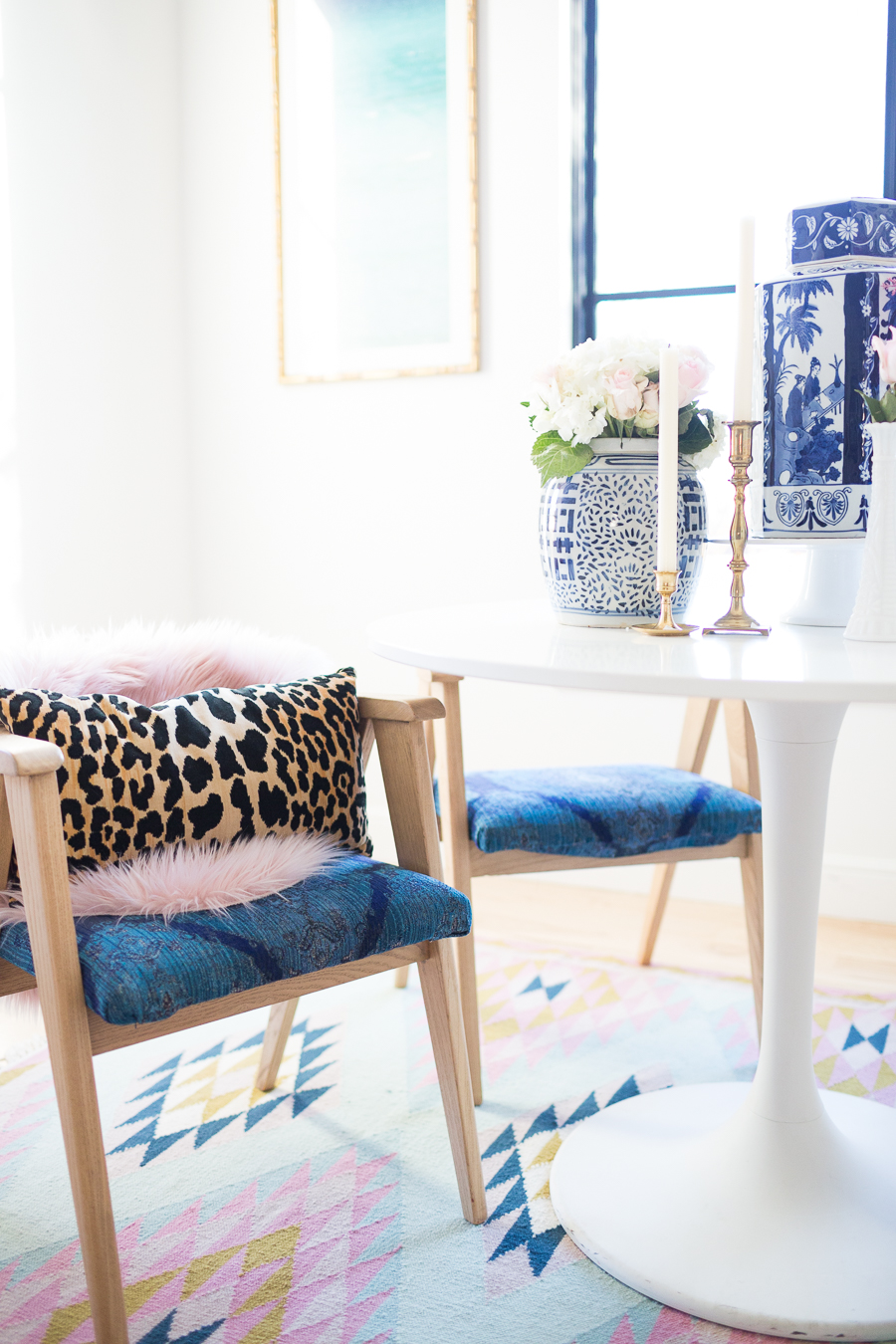 Modern Glam Pillows : Rooms We Love Home Tour Modern Glam Breakfast Nook CC and Mike