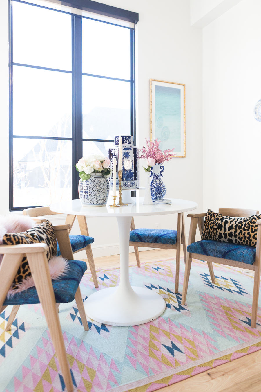 19 Feb Rooms We Love Home Tour Modern Glam Breakfast Nook
