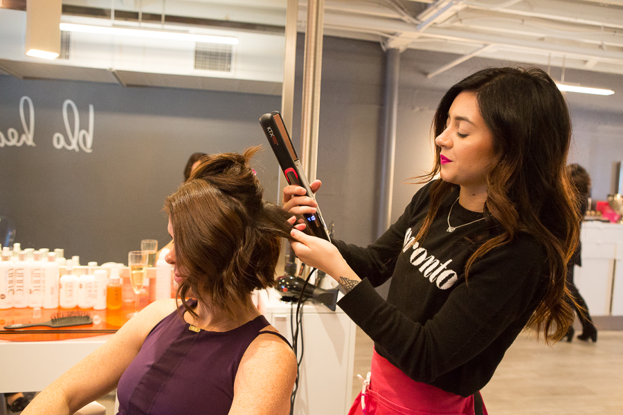 Tulsa Blow Dry Bar Blo Brookside and Barre 3 Girls Day