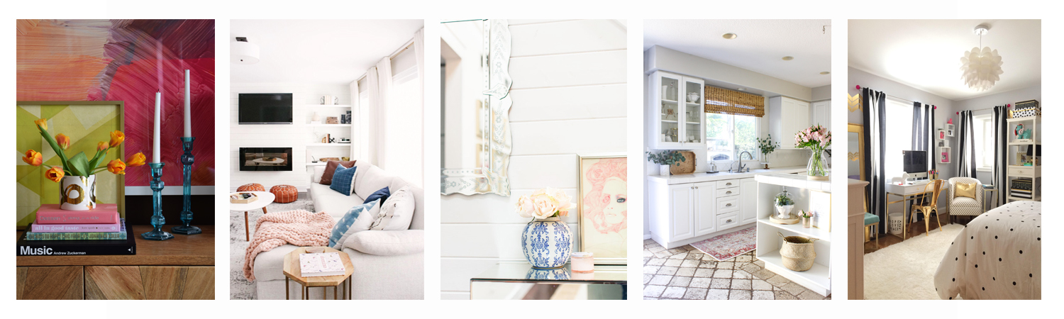 Rooms We Love Home Tour Modern Glam Breakfast Nook | CC and Mike |