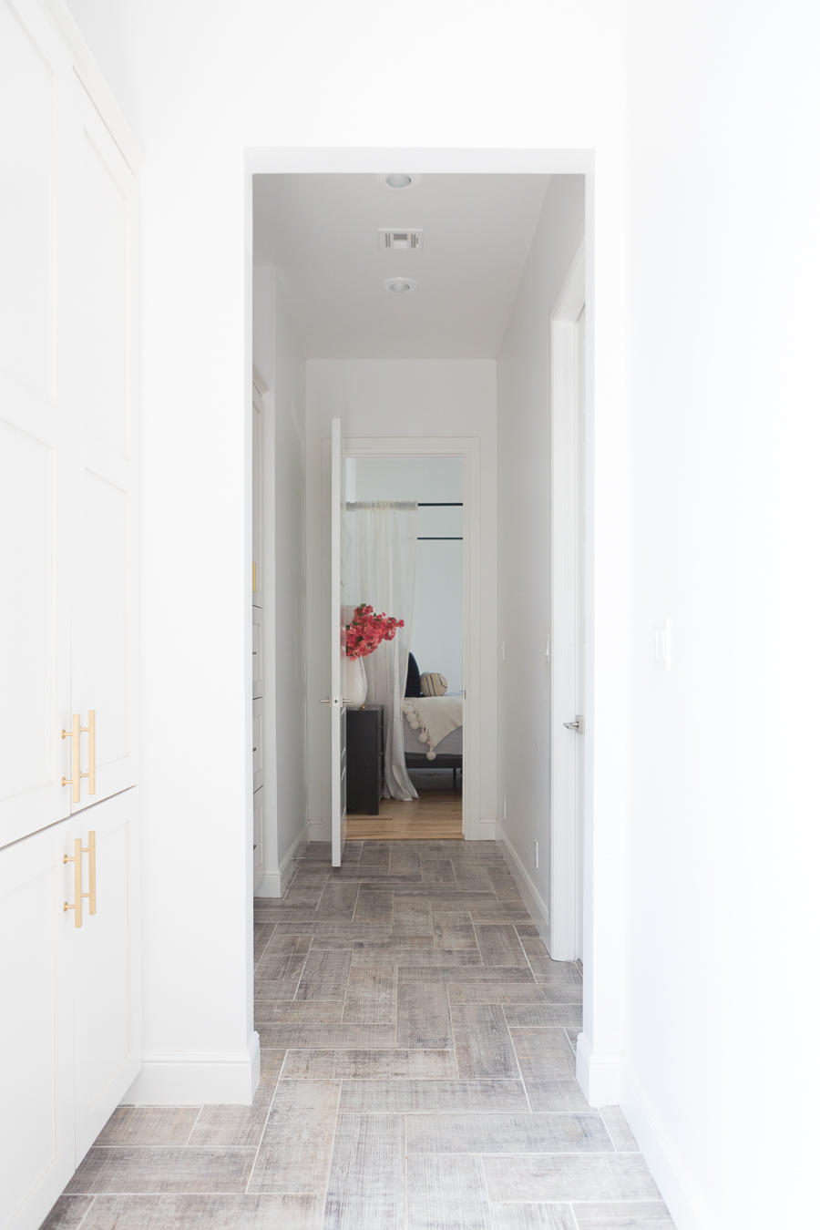 5 beautiful herringbone wood floor alternatives |CC and Mike ...