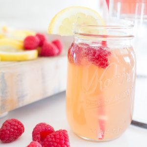 Raspberry Peach Summer Beer Recipe-3 TIto's vodka mason jar raspberry lemonade best summer adult drinks best summer beer recipe best adult party drinks