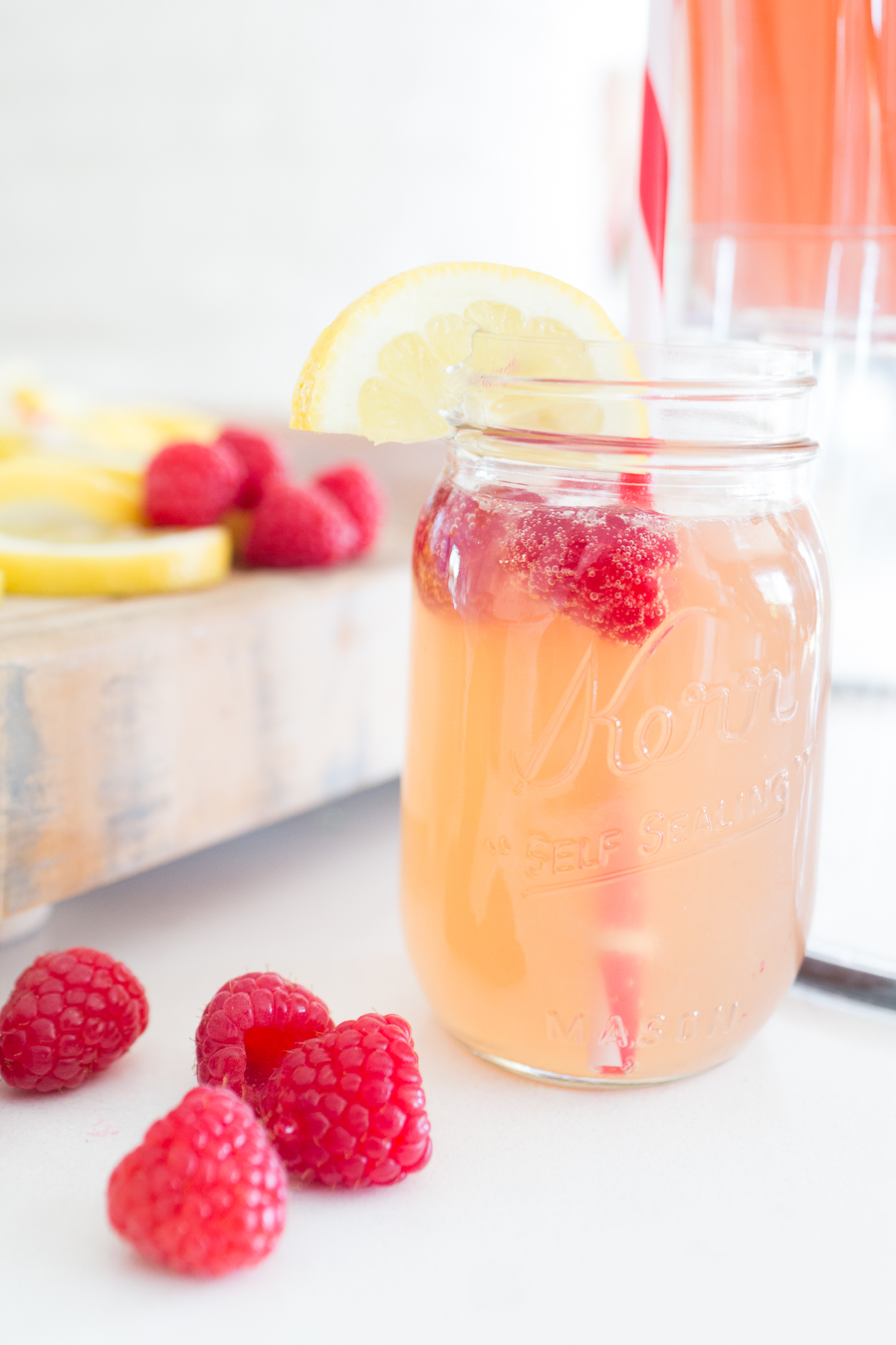 Raspberry Peach Summer Beer Recipe