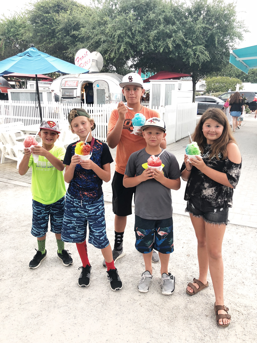 Tips for Planning the Perfect Family Beach Trip to Rosemary Beach frostbites Seaside 30A