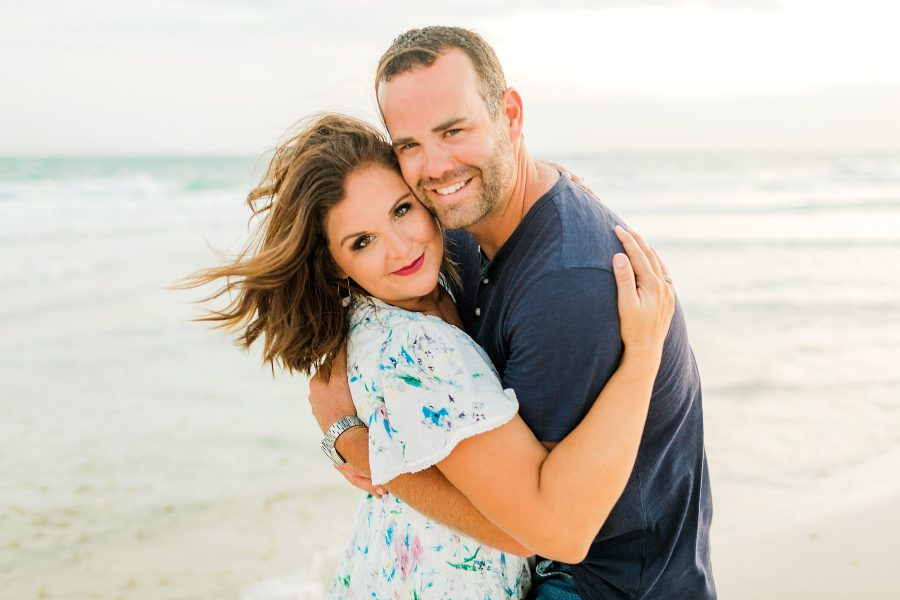 Two Words that Will Save your Marriage cc and mike design couple pictures on a beach