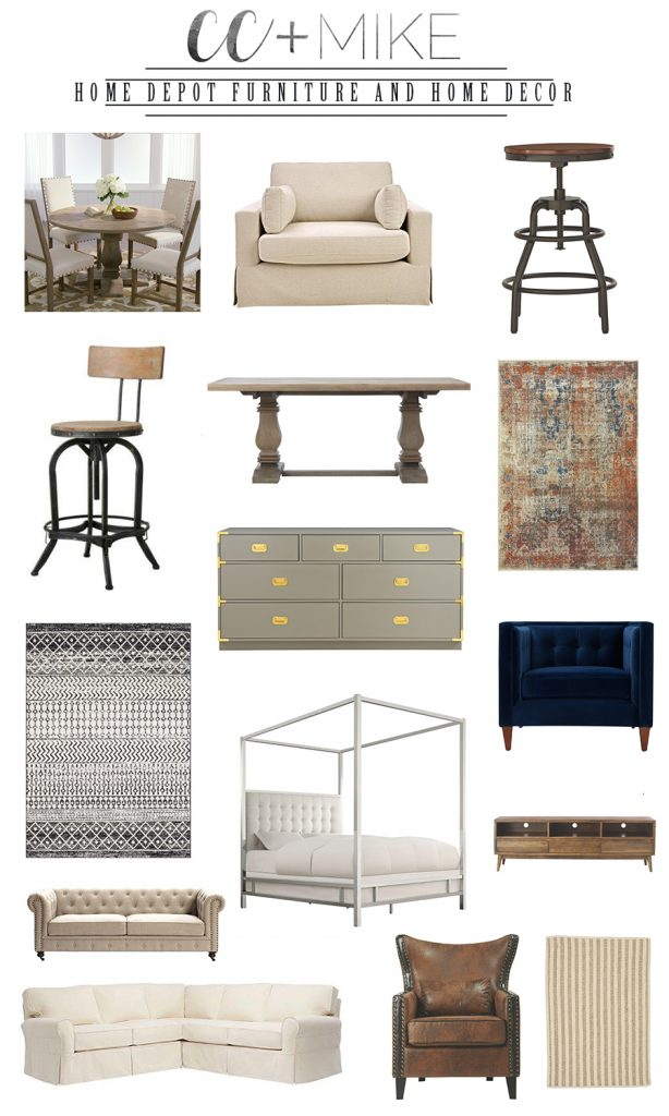 Holiday Decor Favorites from Home Depot home decorators collection furniture from home depot affordable canopy beds and area rugs