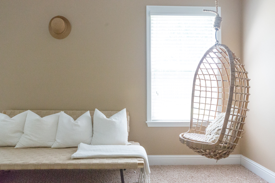 Teen Hangout Room Design Plan And Hanging Chairs