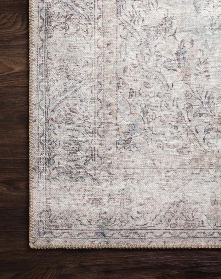 CC and Mike THe Shop rug sale Silver Slate Loren area rug2