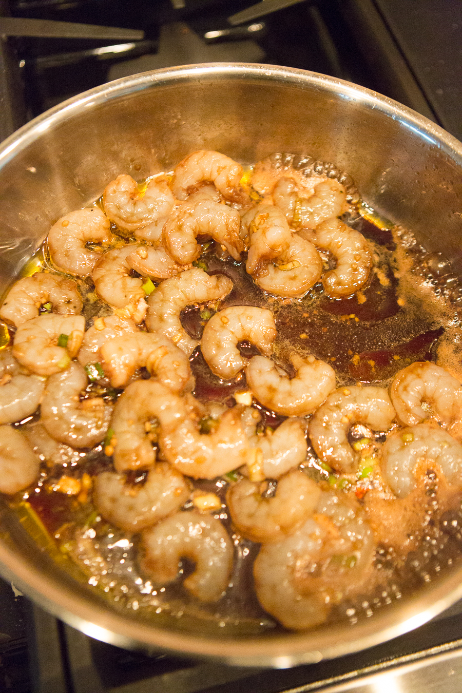 Easy Honey Maple Garlic Shrimp-1