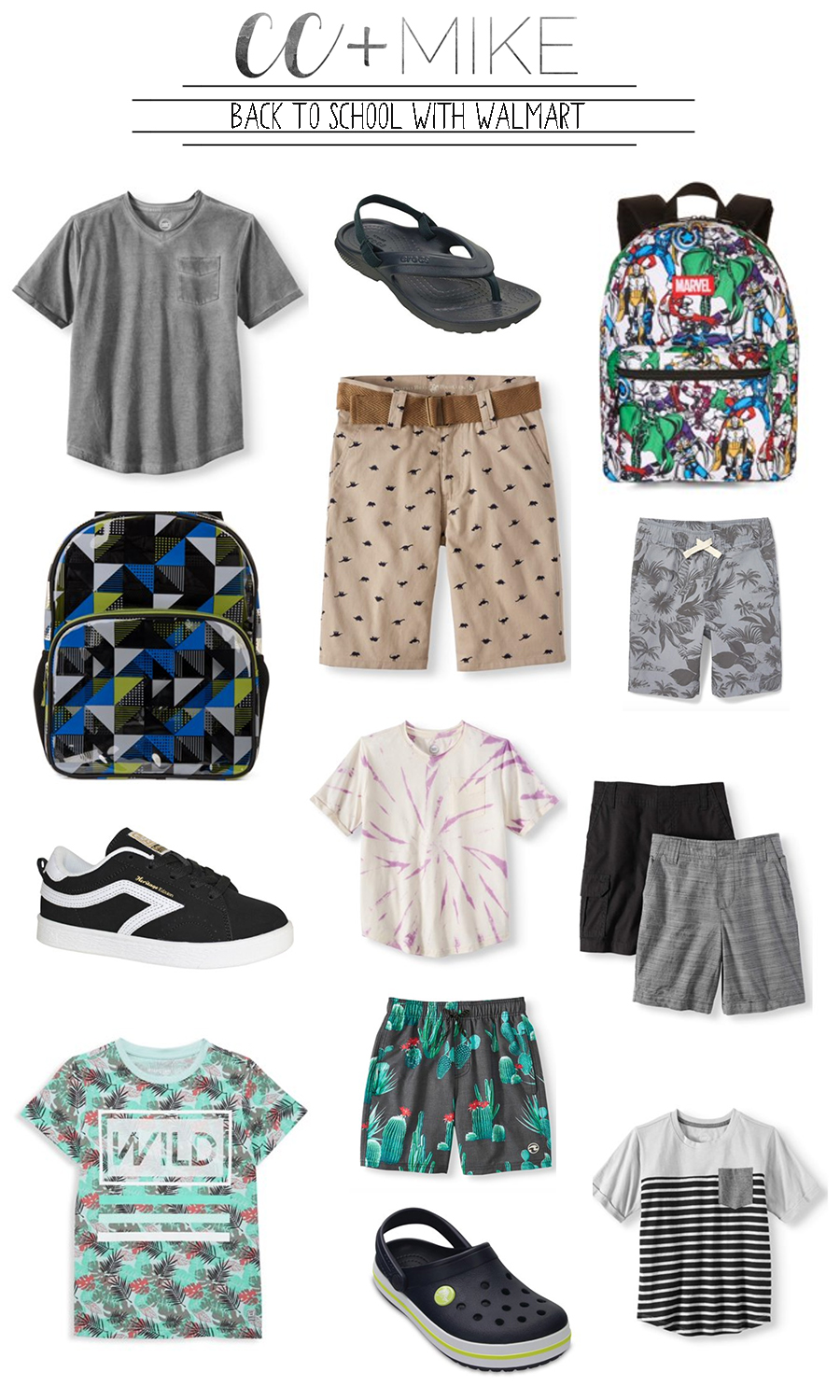 Back to School with Walmart affordable boys and girls back to school clothes