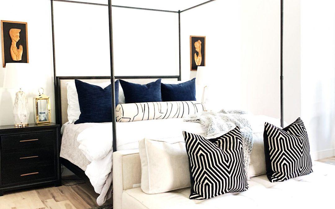 Master Bedroom Design with Walmart Home