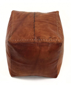 CC AND MIKE THE SHOP LABOR DAY SALES LEATHER POUF