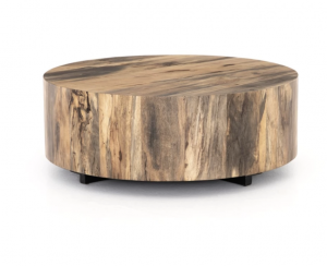 CC AND MIKE labor day sales round wood coffee table