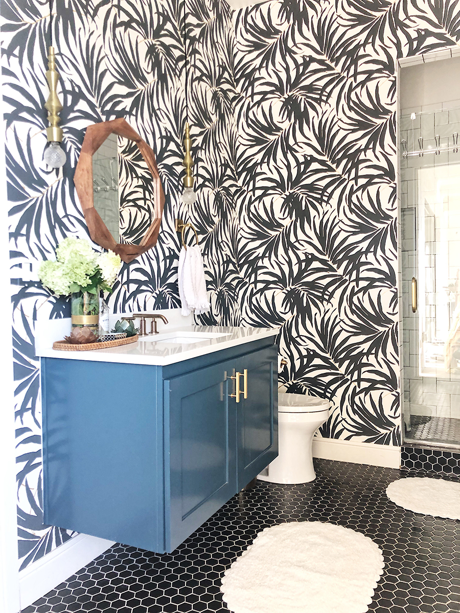 Vintage Chic Bathroom Updates