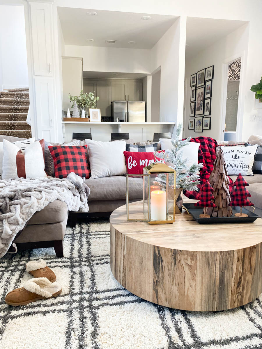 Affordable Buffalo Plaid Holiday Pillows And Decor Cc And Mike Blog