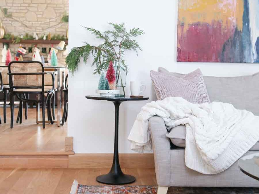 Black Friday and Cyber Monday Sales from Rugs USA Rug and couch and side table