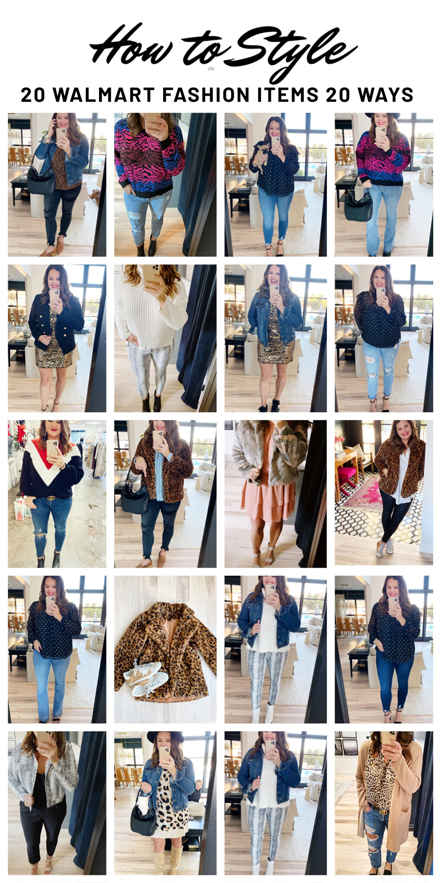 How to Style 20 Walmart Fashion Items 20 Different Ways