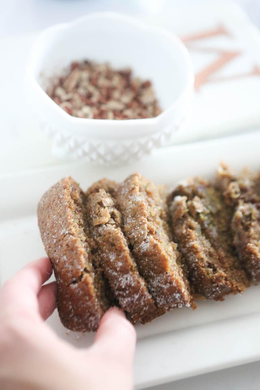 Grammy J's Zuchinni Bread Recipe best homemade bread recipes-2