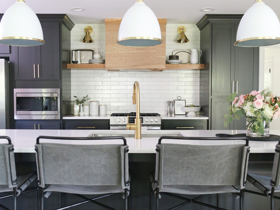 CC and Mike Modern Navy and Cedar Ranch Style Remodel