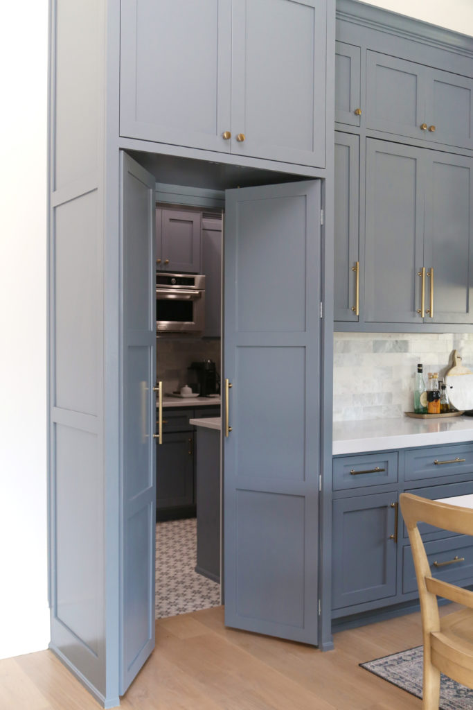 Hidden Pantry and Prep Kitchen