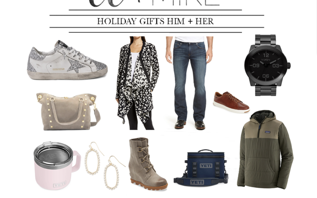 Holiday Gifts for Her 2020 Best Holiday Gift Guides FOR HIM AND HER