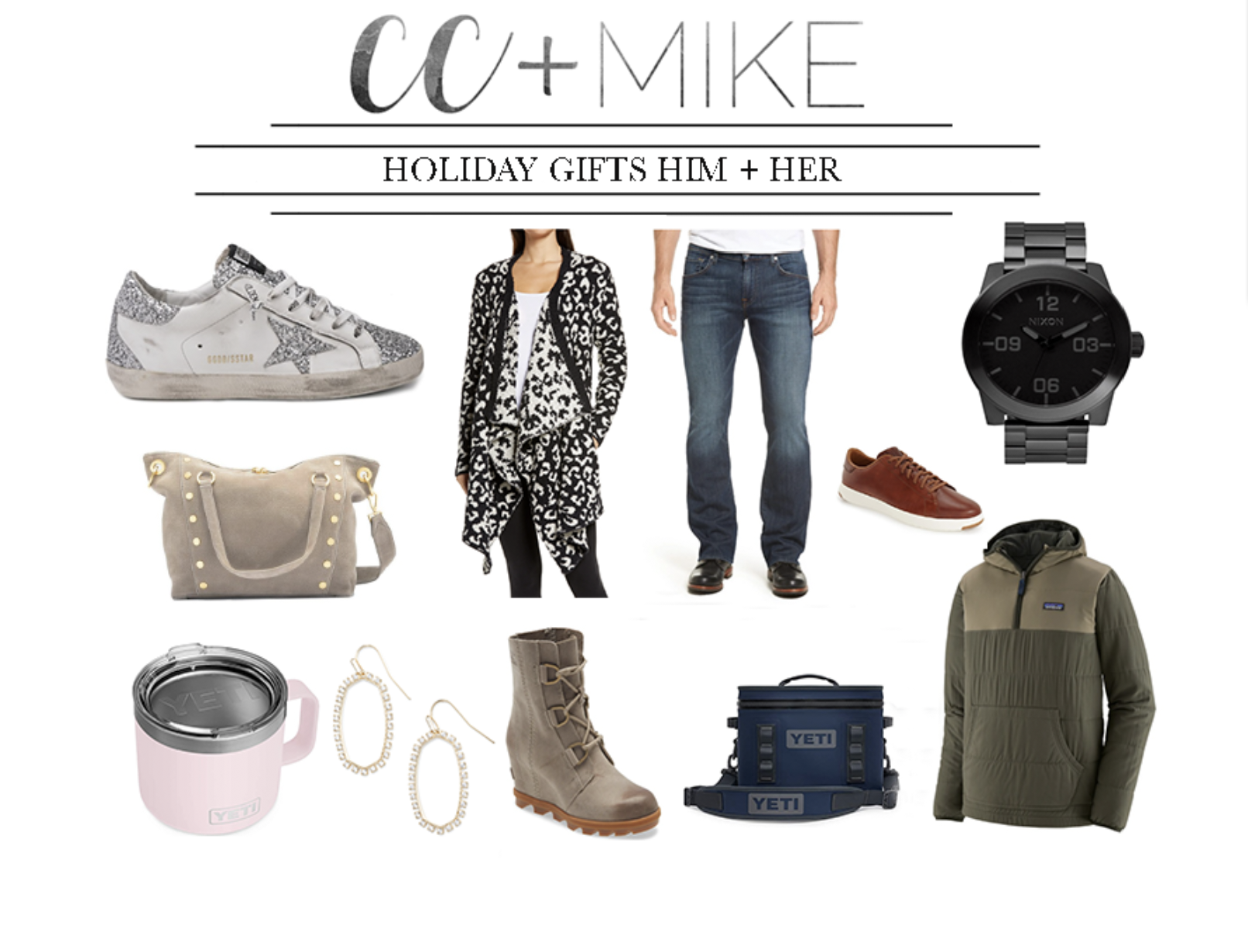 2020 HOLIDAY GIFT GUIDES FOR HIM & HER