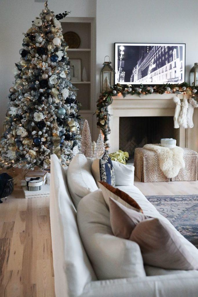 Christmas decor and tree