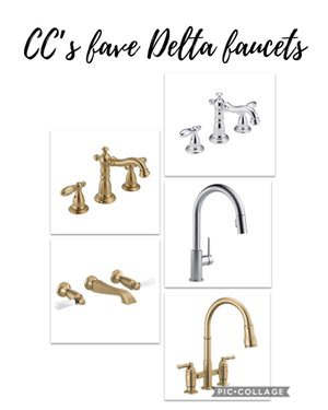 CC and Mike 2020 Project Recap and 2021 PREVIEW champagne bronze Delta faucets