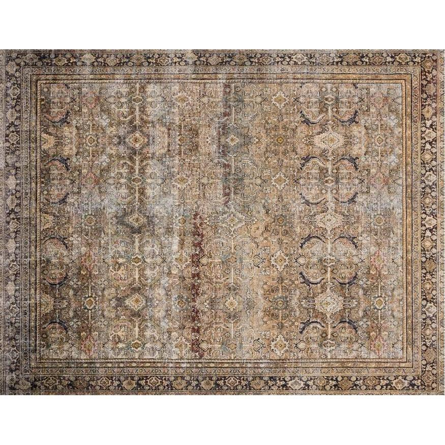 Rug -Olive Charcoal Layl- Beaver Lake project.