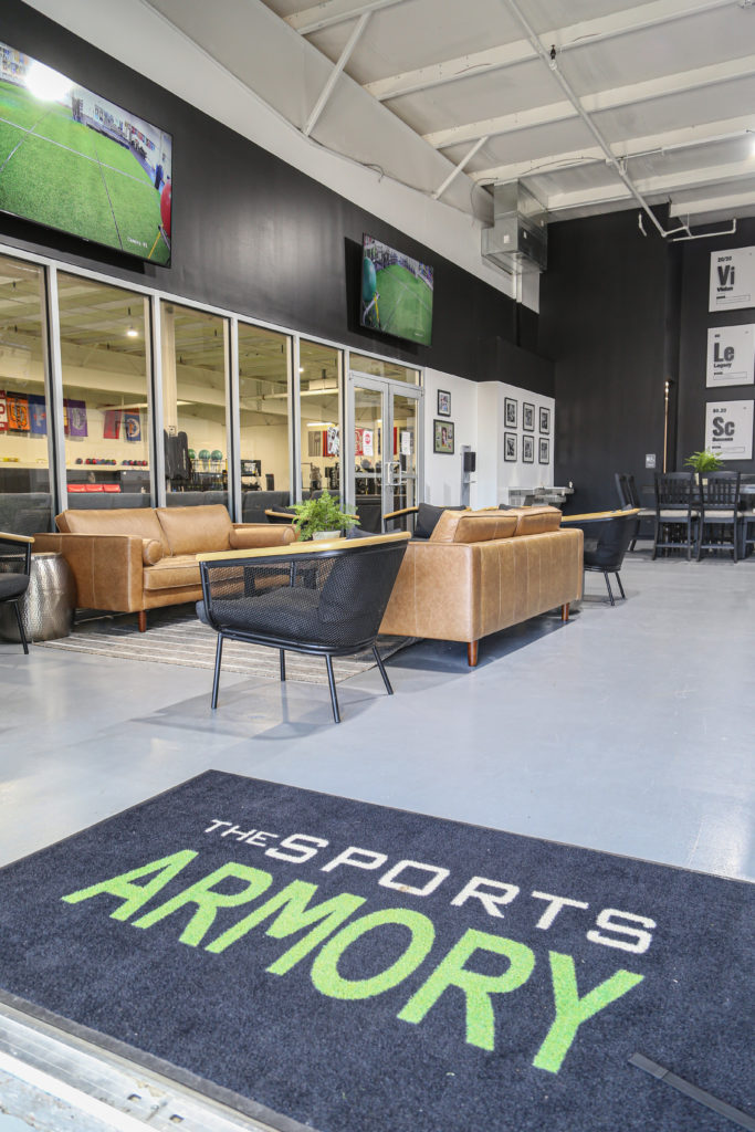 Entrance to the Sports Armory