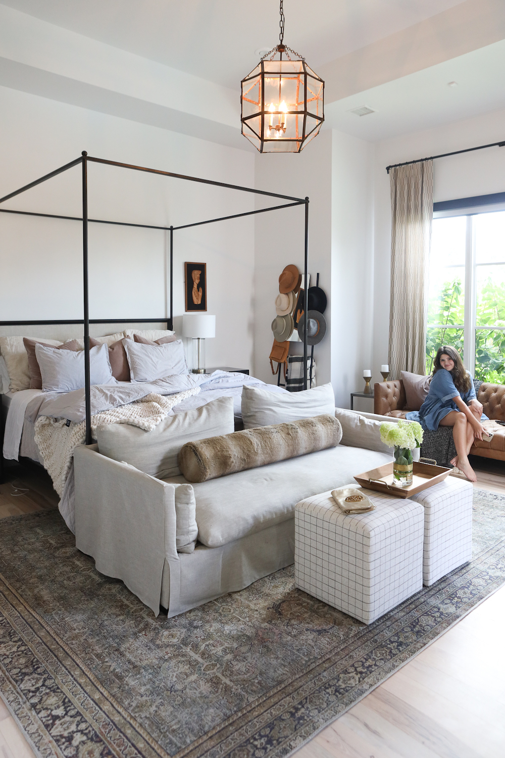 Modern American Master Bedroom Refresh with CC+ Mike!